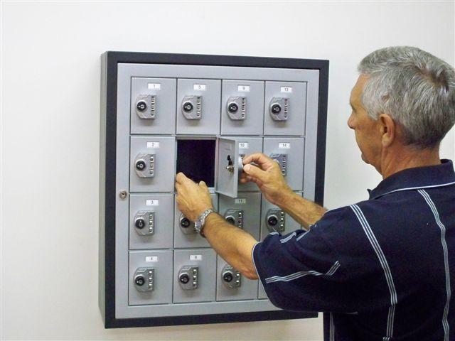 Keyless Cell Phone Locker