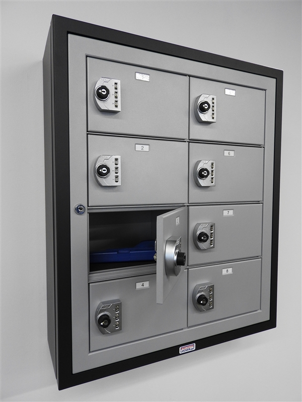 Squadron 194 174 Pistol Locker 8 Doors Precision Locker Company