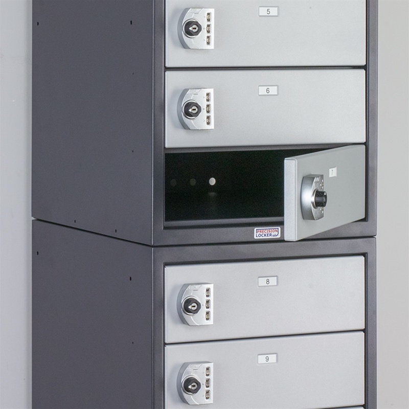 Charging Laptop Lockers For Military Libraries