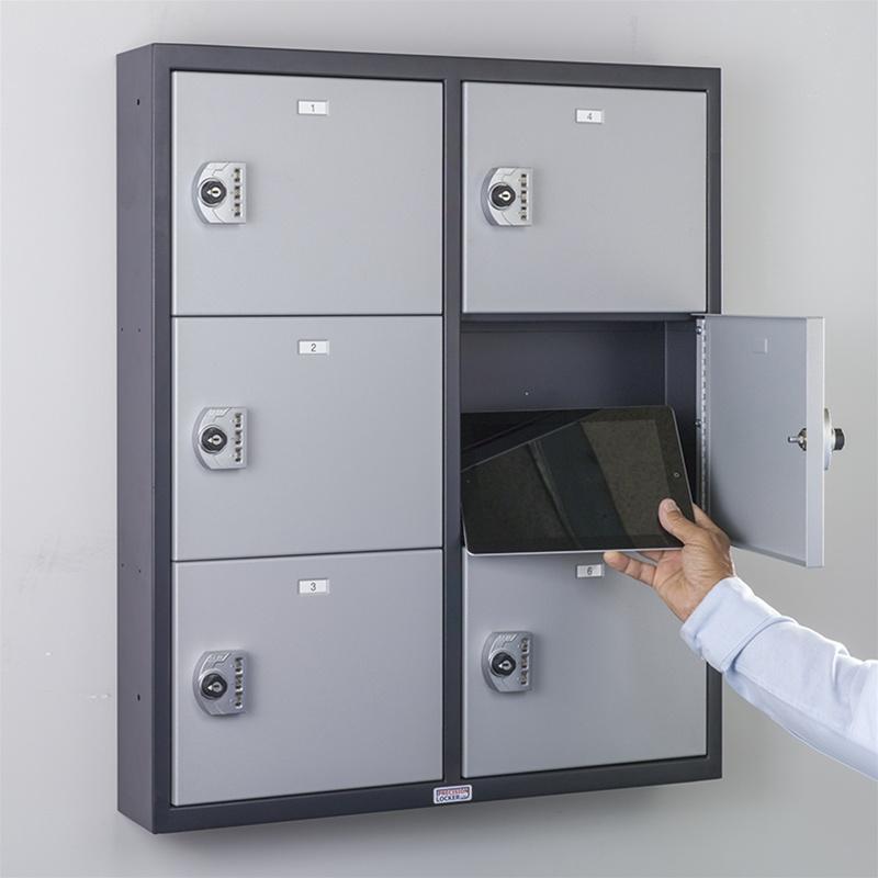 Snapcharge 226 162 Keyless Tablet Locker 6 Door Precision