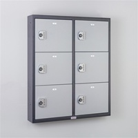 Commander Keyless Pistol Locker (6 Doors)