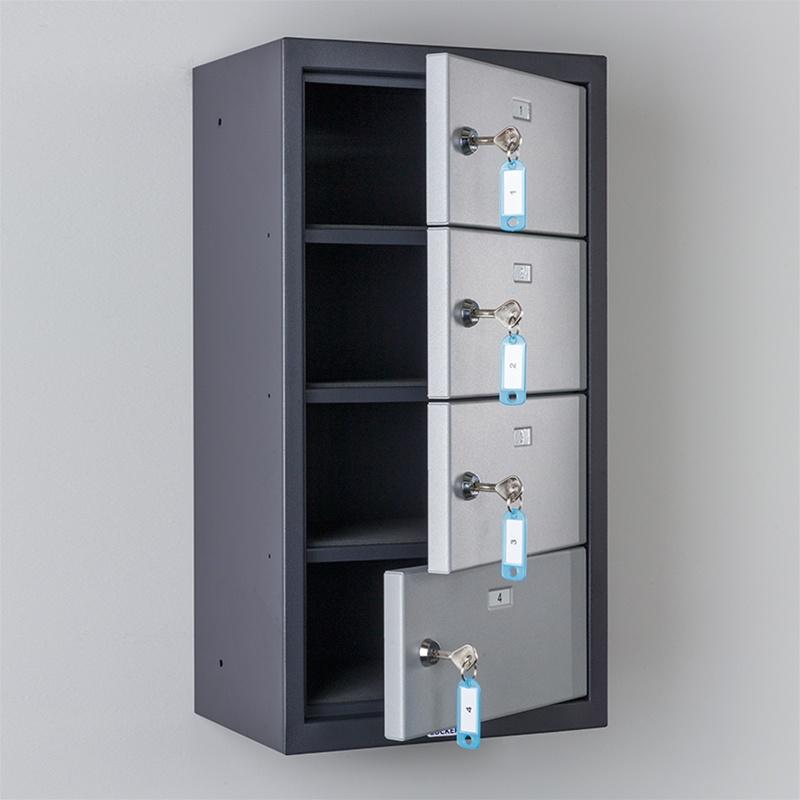 Commander pistol locker 4 doors precision locker company for House lockers
