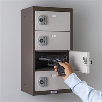 Commander Keyless Pistol Locker (4 Doors)