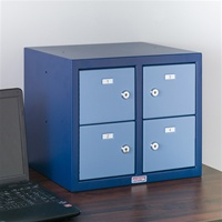 Commander Desk Pistol Locker (4 Doors)