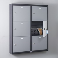 Commander Pistol Locker (6 Doors)