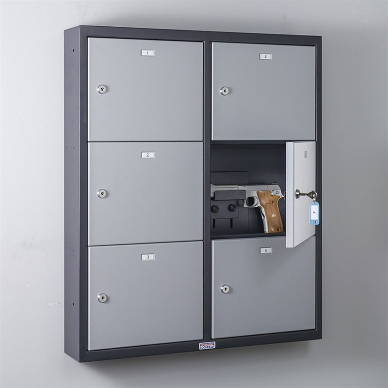 Larger Photo Email A Friend & Precision Lockers | Commander Pistol Locker (6 Doors)